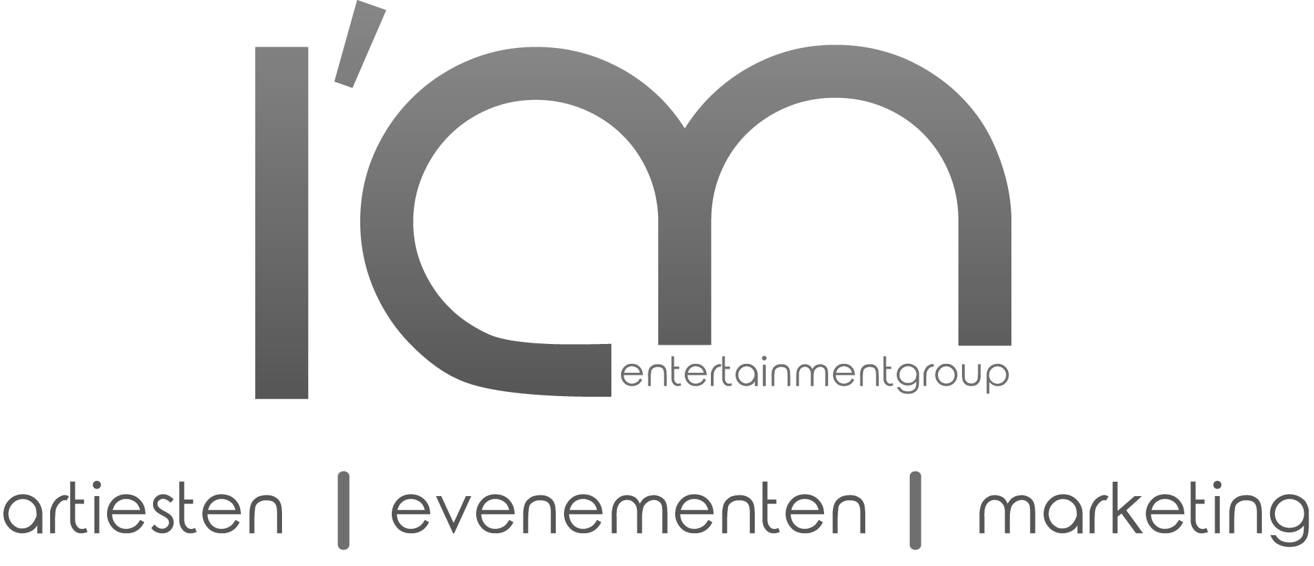Logo donker I Am Entertainmentgroup